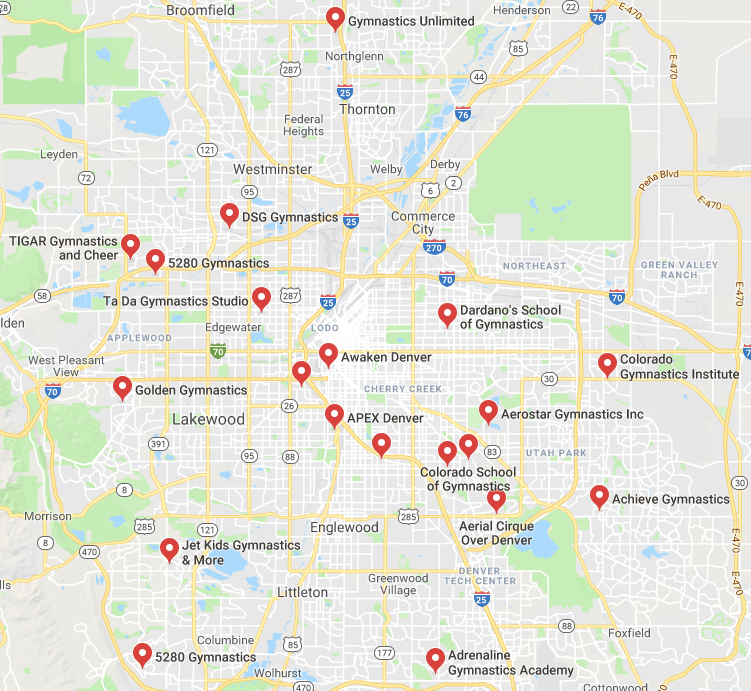 Gyms near Denver